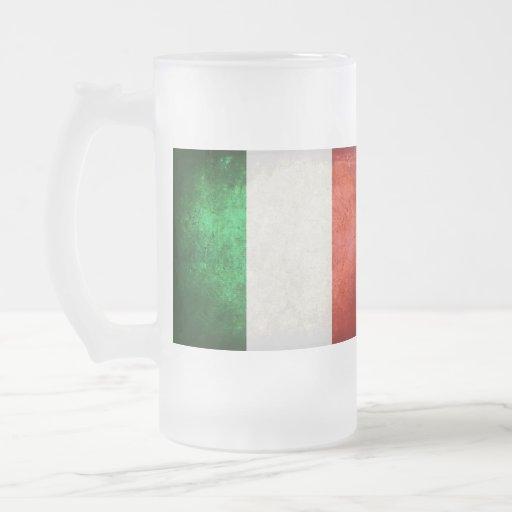 Bandeira de Italia; Caneca