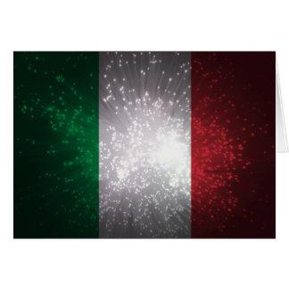 Bandeira de Italia Cartão De Nota