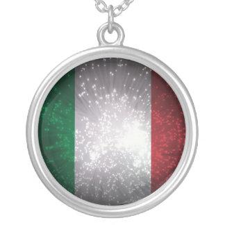 Bandeira de Italia Pingente