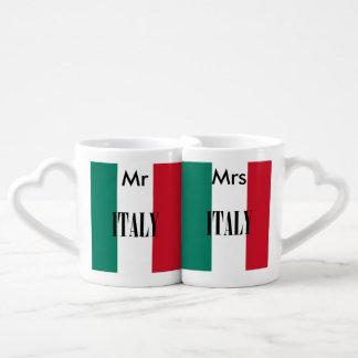 Bandeira de Italia Conjunto De Caneca De Café