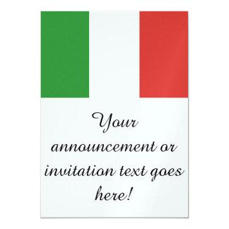 Bandeira de Italia Convite Personalizado