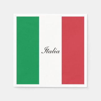 Bandeira de Italia Guardanapo De Papel