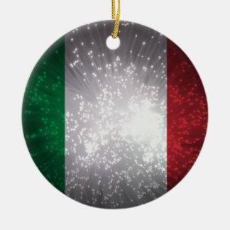 Bandeira de Italia Enfeites De Natal