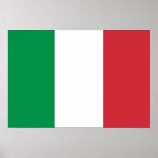 Bandeira de Italia Poster
