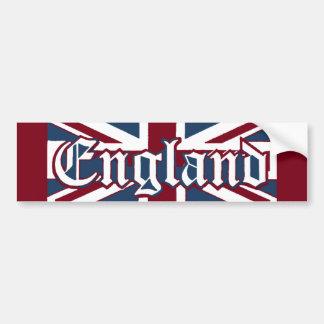 Bandeira de Jack da Inglaterra-União Adesivo Para Carro