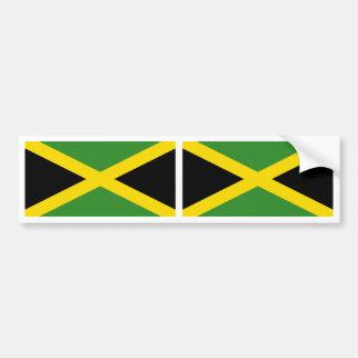 Bandeira de Jamaica Adesivos