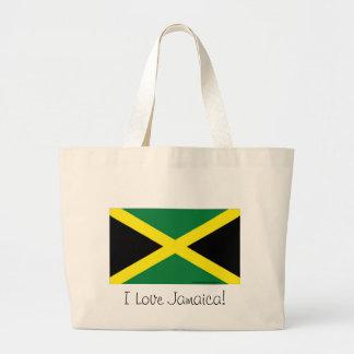 Bandeira de Jamaica Bolsa Tote Grande