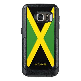 Bandeira de Jamaica com nome personalizado