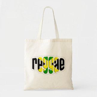 Bandeira de jamaica do rasta da reggae de Cori Rei Bolsa Para Compra