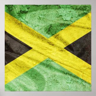 Bandeira de Jamaica Poster