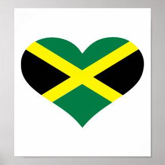 Bandeira de Jamaica Pôsteres