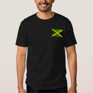 bandeira de jamaica - raizes da reggae tshirts