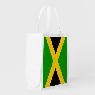 Bandeira de Jamaica Sacola Ecológica Para Supermercado