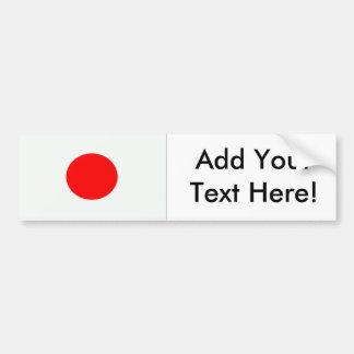 Bandeira de Japão Adesivo Para Carro