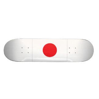 Bandeira de Japão Shape De Skate 18,4cm