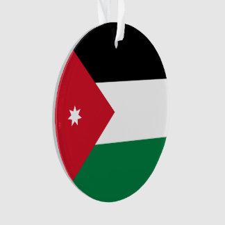 Bandeira de Jordão Ornamento