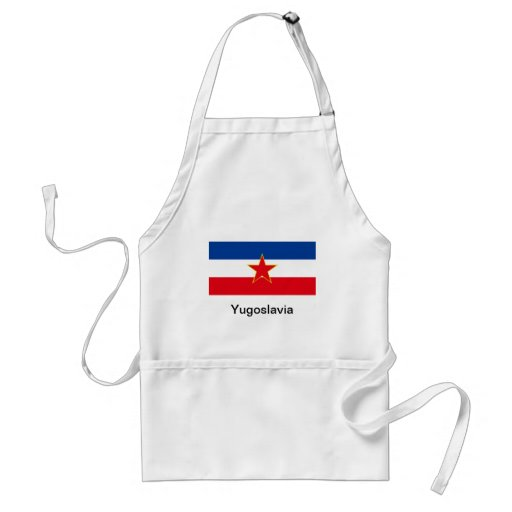 Bandeira de Jugoslávia Aventais