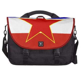 Bandeira de Jugoslávia Bolsa Para Laptops