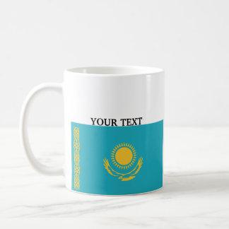 Bandeira de Kazakhstan Caneca De Café