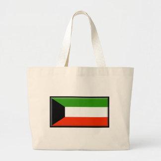 Bandeira de Kuwait Bolsas Para Compras