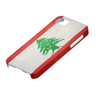 Bandeira de Líbano Capa Para iPhone 5