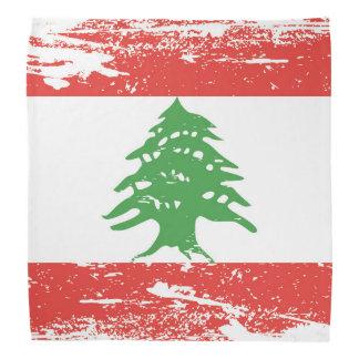 Bandeira de Líbano do Grunge Faixas Para Cabeça