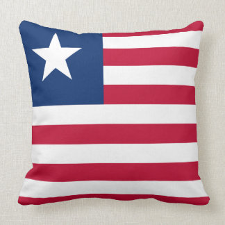 Bandeira de Liberia Almofada