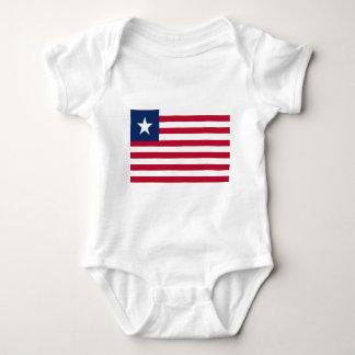 Bandeira de Liberia Body Para Bebê