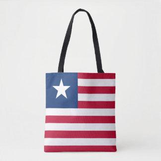 Bandeira de Liberia Bolsa Tote