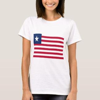 Bandeira de Liberia Camiseta