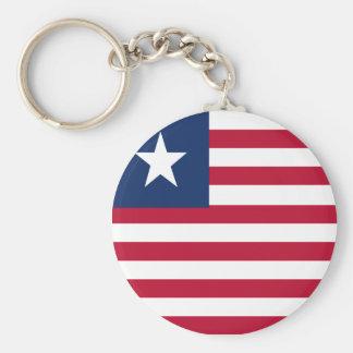 Bandeira de Liberia Chaveiro