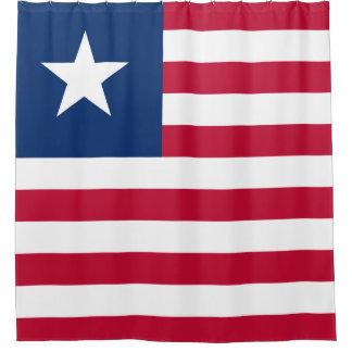 Bandeira de Liberia Cortina Para Box