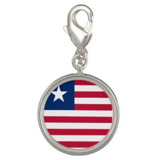 Bandeira de Liberia Photo Charms