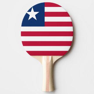 Bandeira de Liberia Raquete Para Ping-pong