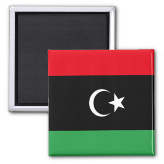 Bandeira de Líbia Imãs