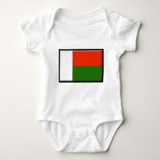 Bandeira de Madagascar Body Para Bebê