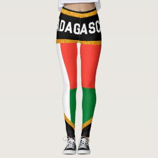 Bandeira de Madagascar Leggings