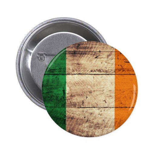 Bandeira de madeira de Ireland Pins