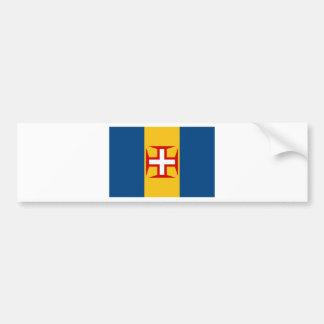 Bandeira de Madeira (Portugal) Adesivo Para Carro
