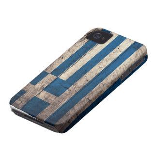 Bandeira de madeira velha da piscina capa para iPhone 4 Case-Mate