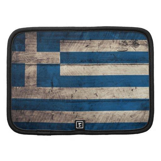 Bandeira de madeira velha da piscina agenda