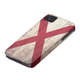Bandeira de madeira velha de Alabama Capinha iPhone 4