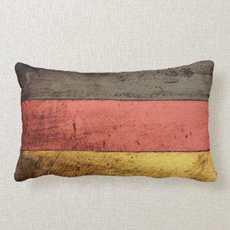 Bandeira de madeira velha de Alemanha Travesseiro De Decoração