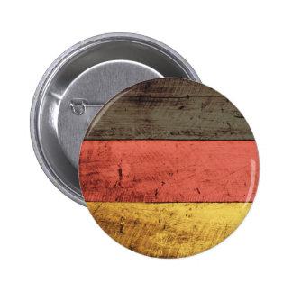 Bandeira de madeira velha de Alemanha Pins