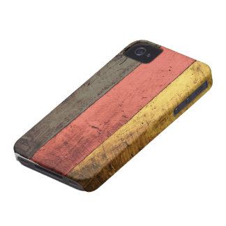 Bandeira de madeira velha de Alemanha Capas Para iPhone 4 Case-Mate
