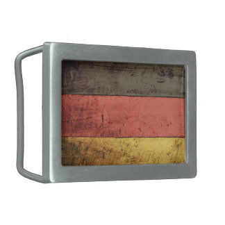 Bandeira de madeira velha de Alemanha