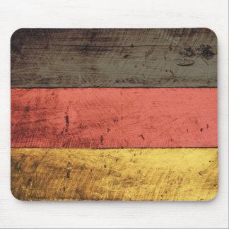 Bandeira de madeira velha de Alemanha Mouse Pad