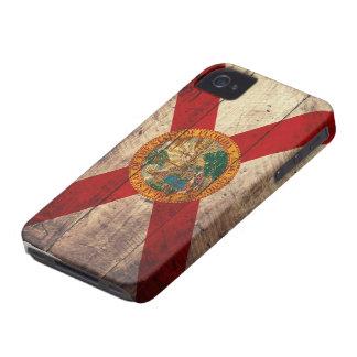Bandeira de madeira velha de Florida; Capas Para iPhone 4 Case-Mate