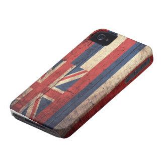 Bandeira de madeira velha de Havaí; Capinhas iPhone 4