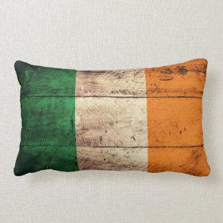 Bandeira de madeira velha de Ireland Travesseiros De Decoração